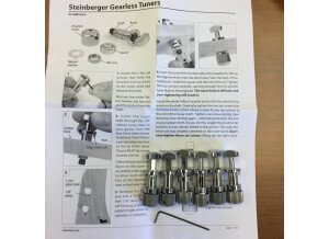 Steinberger Gearless Tuners