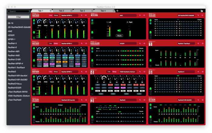 Focusrite RedNet Control2 0