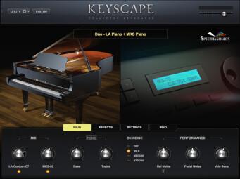 Spectrasonics Keyscape : Duo