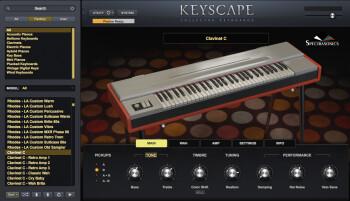 Spectrasonics Keyscape : Search Clavinet