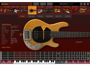 ikc L modobass model bass man 5
