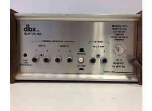 dbx 100 BoomBox