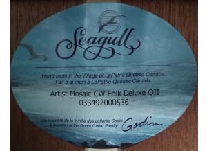 Seagull Artist Mosaic CW Folk QII