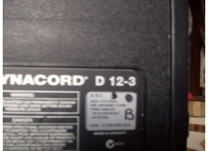 Dynacord D 12-3