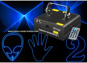 JB Systems Smooth Scan Blue Laser