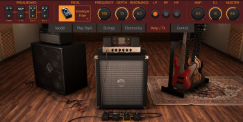 IK Multimedia Modo Bass : ampfx