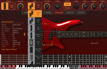IK Multimedia Modo Bass : micros