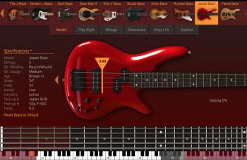 IK Multimedia Modo Bass : modeles