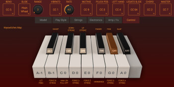 IK Multimedia Modo Bass : control