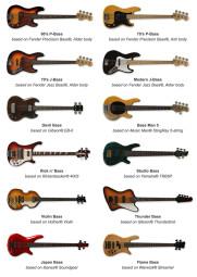 IK Multimedia Modo Bass : bassmodels