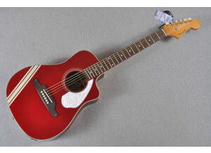 Fender Malibu CE Mustang - Candy Apple Red