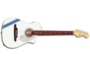 Fender Malibu CE Mustang - Olympic White