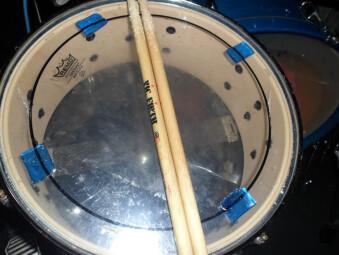 Moongel on snare