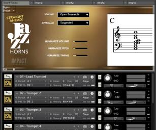 Impact Soundworks Straight Ahead Jazz Horns : multismartvoicing