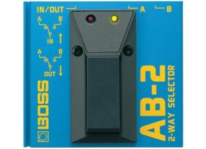 Boss AB-2 2-way Selector (71405)