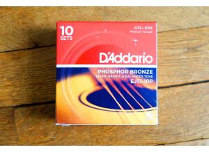 D'Addario Phosphor Bronze Wound Acoustic Guitar