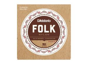 D'Addario Folk Nylon Classical