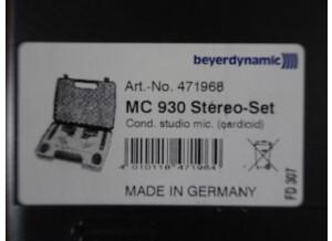 Beyerdynamic MC 930 Stéréo Set (31031)