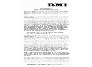 RMIF ROCKY MOUNTAIN INDUSTRIES