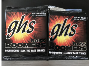GHS Bass Boomers 3140 45-100 Medium Scale (98253)