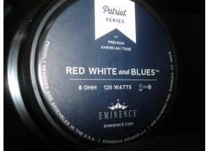 Eminence Red White and Blues (58148)