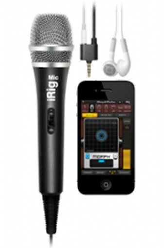iRig Mic with AmpliTube 2.2 for iPhone