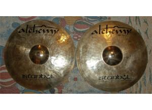 """Istanbul Agop Alchemy Medium Hi-Hats 14"""""""
