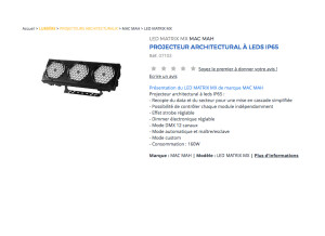Ayrton Lighting Moduled 318
