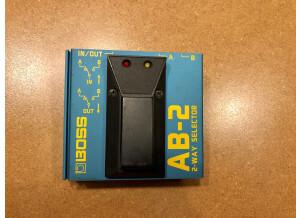 Boss AB-2 2-way Selector (81311)