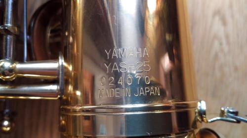 Yamaha YAS-25 (17719)