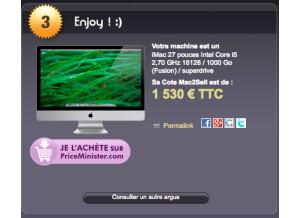 Apple iMac 27 inches 2012 (45149)