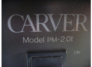 Carver PM  2.0T