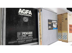 "AGFA PEM 468 1/2"" Bande Master 762m"