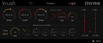 Informatique musicale : krush v1.1