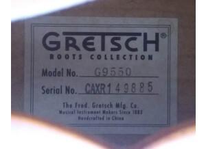 Gretsch G9550 New Yorker Archtop