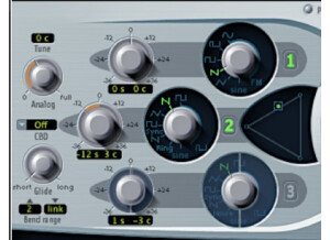 Emagic ES2 Synthesizer 2