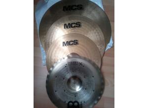 Meinl MCS Ready Set Rock Cymbal Set-up
