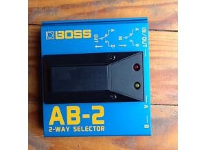 Boss AB-2 2-way Selector (56803)