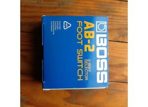 Boss AB-2 2-way Selector (85161)