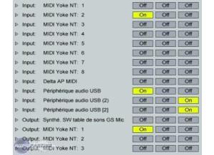 Midi-Ox MIDI YOKE
