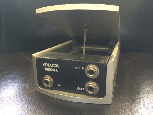 Ernie Ball 6166 250K Mono Volume Pedal for use with Passive Electronics (5330)