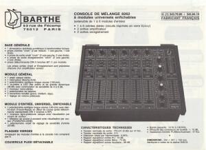 Barthe 8262