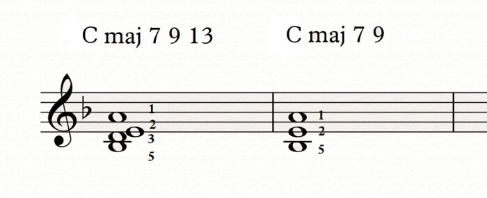 Piano voicings 3