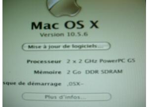 Apple PowerMac G5 2x2 Ghz (40758)