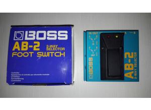 Boss AB-2 2-way Selector (24345)