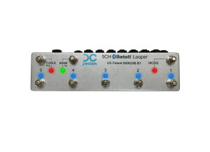 DC Pedals 5-Channel Bluetooth Looper