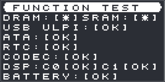 function test elektron