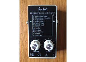 Finhol Stompbox Converter