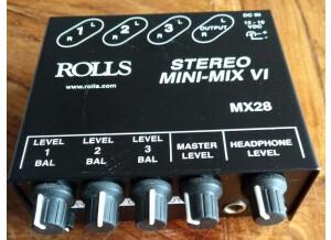 Rolls MX28 Stereo Mini Mix VI