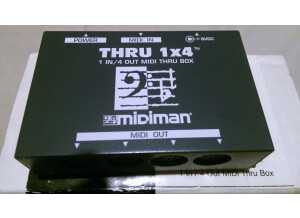 M-Audio Thru 1x4